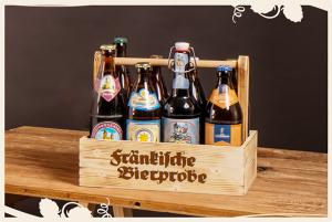 Bier-Tragerl mit fränkischem Bier